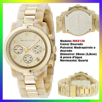 Relógio Michael Kors Mk5139 Madrepérola 38mm Midsized Novo !