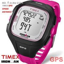 Relógio C/ Gps Timex Easy Trainer 5k753 Velocidade Distância