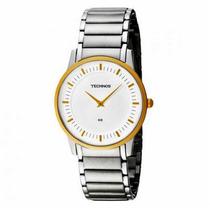 Relógio Technos Masculino Classic Slim Gl20an/5k Em Aço