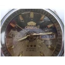Relógio De Pulso Orient Automático Restaurado Funcionando