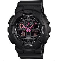 Relogio Casio Ga-100c-1a4 Gshock Anadigi Crono Alarm Timer