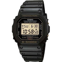 Relógio Casio G-shock Dw-5600 Eg Alar Wr-200 Série Ouro Nfe