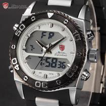 Relógio Shark Cat White - Frete Grátis - Envio Imediato.