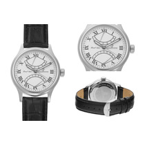 Dual Time Vandenbroeck E Cie,relógio Alemão Novo Sem Uso.