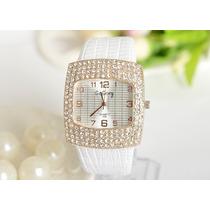 Relógio Crystal Luxo Importado Pronta Entrega No Brasil