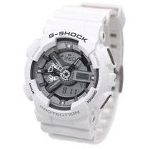 Relógio Casio G-shock Ga110c7a Branco Novo Original 01 Ano