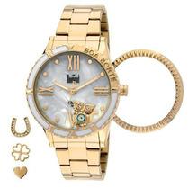 Relógio Dumont Sg85111/4b - Dourado Feminino - 12x Sem Juros