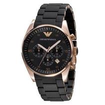 Relógio Emporio Armani Ar5905 Preto Caixa Original E Manual*