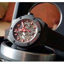 Relógio Eta Valjoux - Hublot King Power F1 Monza Black 48mm