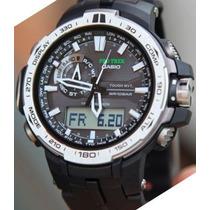 Relógio Casio Protrek Prw6000 1d Multiband Solar Novo Caixa
