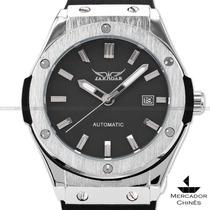 Relógio Masculino Jaragar Automático Preto Luxo Big Bang