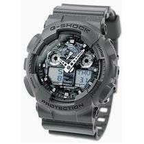 Relógio Casio G-shock Ga100cf 8a Camuflado Novo E Original
