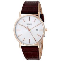 Relógio Bulova Slim 98h51 Classico Masculino 12x Sem Juros