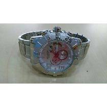 Relógio Original Atlantis Em Aço Estilo Technos