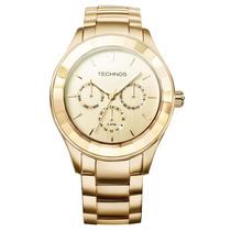 Relógio Technos Feminino Swarovski Elements 6p29aeo/4d
