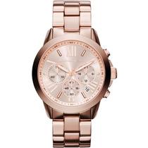 Relógio Michael Kors Mk5778 Rose Lindo Original Frete Grátis