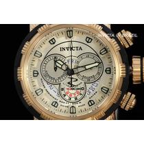 Invicta 80300 Capsule Original Banhado Ouro 18k Na Caixa