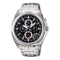 Relógio Casio Edifice Ef-328 D-1av Vidro Mineral Wr-100m P