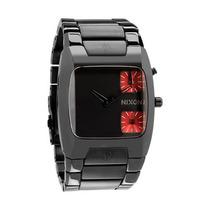 Relógio Nixon Banks Gunmetal A060 131 Garantia 2 Anos Brasil