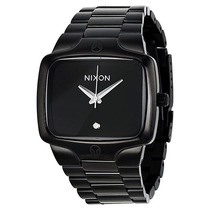 Relogio Nixon Player All Black A140 001 - Garantia 2 Anos