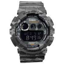 Casio G-shock Gd120cm 8dr Camuflado Cinza Novo E Original