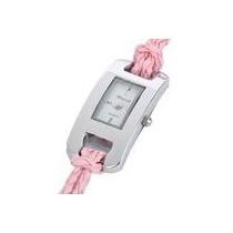 Relógio De Pulso Leke/dasni,várias Cores. Pulseira Em Couro.