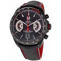 Relógio Tag Grand Carrera Rs2 Calibre 17 Automático Couro