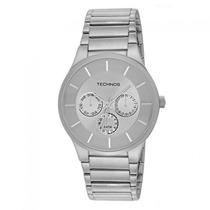Relógio Technos Titanio Masculino Classic Slim 6p29jc Nfe