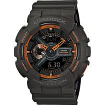 Relógio Casio G-shock Ga-110 Ts W200 H.mundial 5 Alarmes Nfe