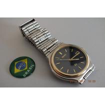 Relógio Seiko Quartz Masculino-déc 80-raro-brasil Relógios