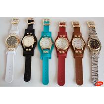Kit Com 06 Relógios Bracelete Feminino A Pronta Entrega