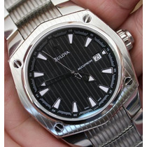 Relógio Bulova Accutron Corvara Automatic 63b101 Swiss Made