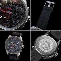Relógio Dzmc0001 Black Completo Caixa Manual Original