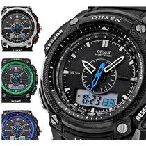 Relógio Masculino Espertivo Ohsen Varias Cores Em Estoque