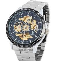 Relógio Automático - Ik Colouring Skeleton - Presente Natal