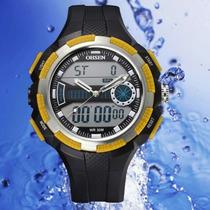 Relógio Ohsen Alarme/cronom., Dt, Luz (promoção)