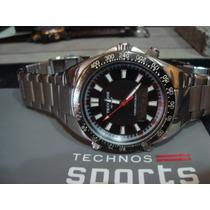 Technos Skymaster Anadigi - T206.a.a - Todo Aço