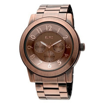 Oferta Relógio Femino Euro Multifunção Estilo Michael Kors