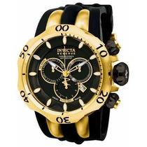 Relógio Invicta Venom - 10833 Banhado Ouro 18 K