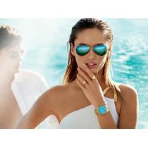 Relógio Feminino Michael Kors Dourado Barato Tendência Mk