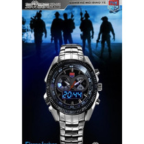 Relógio Tvg Seals Elite Led Militar - Veja O Vidio