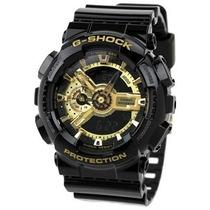 Relógio Casio G-shock Ga110gb 1a Preto Dourado Novo Original
