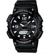 Relogio Casio Aq-s810w-1avdf Solar Crono Timer Wr 100m 5alar