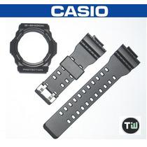 Kit Capa Original/pulseira Similar Casio G-shock Ga-300