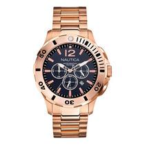 Relógio Nautica Gold Chronograph A27526g