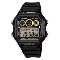 Relógio Casio Digital Esportivo Ae-1300wh-1avdf