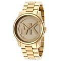 Relógio Michael Kors Mk5786 Gold Midsize Original Garantia
