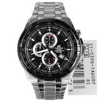 Relógio Casio Edifice Ef-539d Preto Novo Original Ef-539