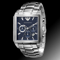 Relógio Emporio Armani Ar0660 Ar 0660 Kaka Azul 12 X Sem Jur