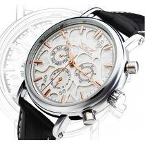 Relógio Clássico Elegante Luxo Automático Cronos Jaragar